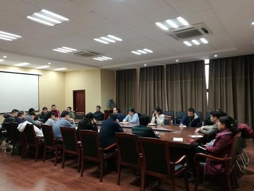 蒋丽珠副校长来继续教育学院调研工作